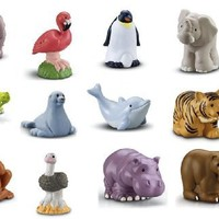 Fisher Price Little People Zoo Talkers Animals ~ SET OF 12