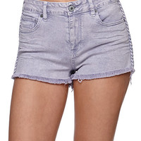 Kendall and Kylie High Rise Braided Shorts at PacSun.com