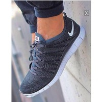 NIKE Trending Fashion casual sports shoes Grey Tagre™