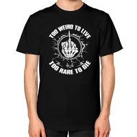 TO RARE TO DIE Unisex T-Shirt (on man)
