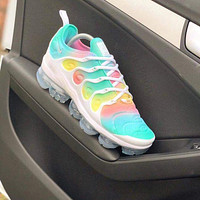 Nike Air Max Vapormax Plus TN Vascular Atmospheric Cushion Men's and Women's Casual Sports Shoes 6