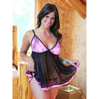 Wilderness Dreams Naked North Pink Camo Baby Doll Set