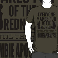 Everyone Makes Fun Of The Redneck Until There Is A Zombie Apocalypse