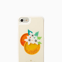 orange shaky gems iphone 7 case
