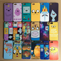 Free shipping 22 designs Adventure Time Beemo BMO Jake, Finn, Lumpy hard plastic case for iphone SE 5 5s