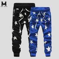 Mens Jogger Pants Outdoors Joggers Men 2017 Hip Hop Harem Pants Sweat Pant Men Trousers Wear Workout Bodybuilding Clothing Pants