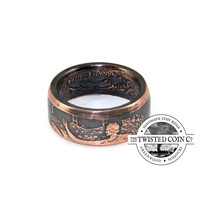 Walking Liberty Copper Coin Ring