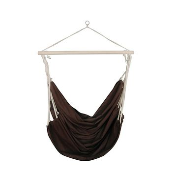 Swing Chair/Hammock Brown Large Fabric
