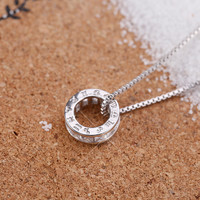Shiny Stylish Gift New Arrival Jewelry 925 Silver Classics Chain Necklace [8026162695]