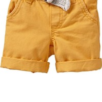 Belted Shorts for Baby