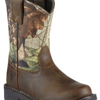Ariat Youth Sierra Distressed Cowboy Boots - Sheplers