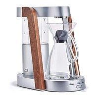 Ratio - Eight Bright Silver Walnut Copolymer Tank Coffee Maker