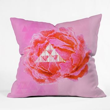Hadley Hutton Floral Tribe Collection 5 Outdoor Throw Pillow
