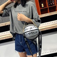 Basketball Chain Fashion Handbag Purse