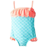 Baby Buns Baby Girls SPF 50 One-Piece Swimsuit