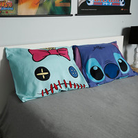 Disney Lilo & Stitch Stitch & Scrump Faces Pillowcase Set