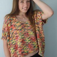 Romeo & Juliet Couture Knit Blend Top Size M