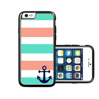 RCGrafix Brand cute anchor iPhone 6 Case - Fits NEW Apple iPhone 6