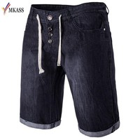 Hot Sale New Summer Mens Short Jeans Brand Clothing Bermuda Summer Board Shorts Thin Breathable Denim Shorts Male