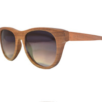 Be Bright - Black Walnut Wood Sunglasses