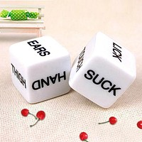 1 Pair Sex Toys Couples Adult Love Erotic Game Dice Bachelor Party Novelty Gift