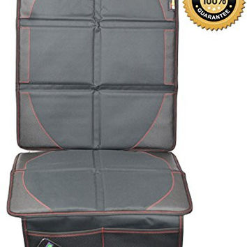 Universal Car Seat Protector by NimNik Best Heavy Duty Protection for Child Baby Infant Cars Seats, Dog Pets Mat Cover