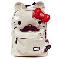 Hello Kitty SANBK0053 Backpack,Cream/Red/Black/Brown,One Size