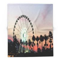 Society6 Coachella Blanket