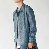 The Narrows Hybrid Fishtail Jacket- Blue