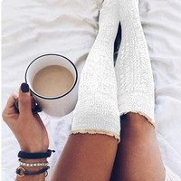 Over The Knee Lace Socks