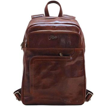 Personalize FC Leather Backpack