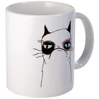 Tard the Grumpy Cat Mug on CafePress.com