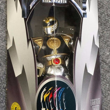 """8"""" White Ranger Action Figure - Movie Edition - Mighty Morphin Power Rangers new in box"""