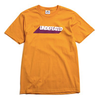 Undefeated Cast T-Shirt Gold