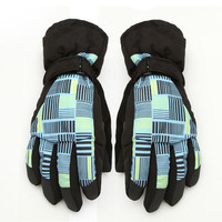 Fashion Winter Ski sport waterproof breathable Gloves Riding Long Plus thick velvet tactical Gloves mittens guantes PA15120613
