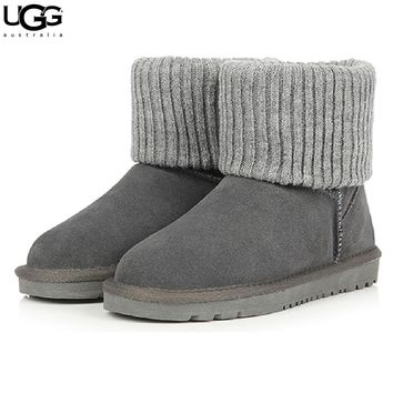 UGG sells fashionable men's and women's casual curly low-cut UGG boots