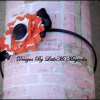 """Black Headband, Photo Prop, """"Harvest Moon""""  Hair Accessories For Toddlers, Little Girls and Teen"""