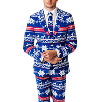 Pre-Order - The Rudolph Suave Ugly Christmas Sweater Fair Isle Reindeer Suit - Fall 2016 Delivery