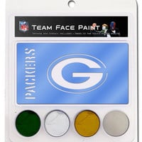 NFL Green Bay Packers Face Paint Kit