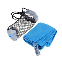 Microfiber Antibacterial Ultralight Compact Quick Drying Towel with Bag Camping Hiking Travel Kits
