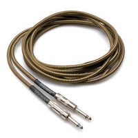 Hosa GTR-518 Guitar Instrument Cable Tweed 18FT