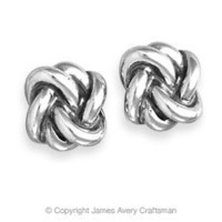 Original Lovers' Knot Ear Posts from James Avery