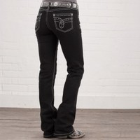 Black As Night Jeans By Cowgirl Up