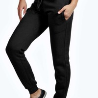 Betty Black Drawstring Joggers