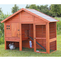 Trixie's Rabbit Hutch with Gabled Roof - Small Pet - Boutique - PetSmart