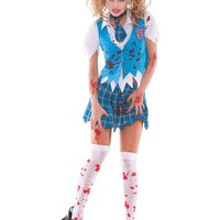 Zombie Hose for costume 9854 White/Red