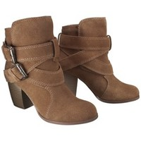 Women's Mossimo Supply Co. Jessica Suede Strappy Boot - Assorted Colors