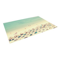 "Ingrid Beddoes ""Happy Summer"" Beach Indoor / Outdoor Floor Mat"