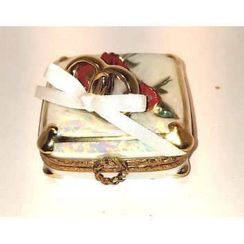 Will You Marry Me Engagement Wedding Ring Box