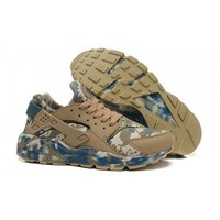 Nike Air Huarache Trainers Men s Brown Camo